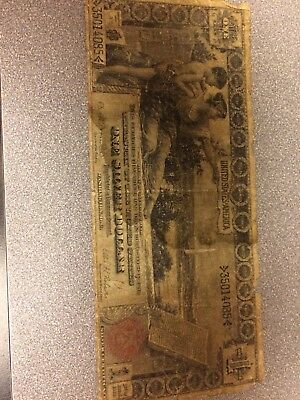 -1896 $1 One Dollar Silver Certificate Educational Note Fr 225 - Sale Priced