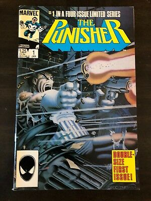 Punisher #1 Limited Series 1985 Marvel Comics Nm