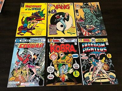 Yang Doomsday Kobra Freedom Fighters Cougar Brothers Of The Spear Lot Of 6 Vf