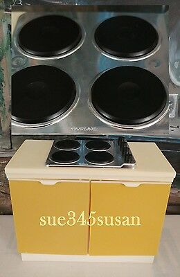 Vintage Sindy Doll Stove Eastham E-Line 1970s for Tammy Doll & other like dolls!