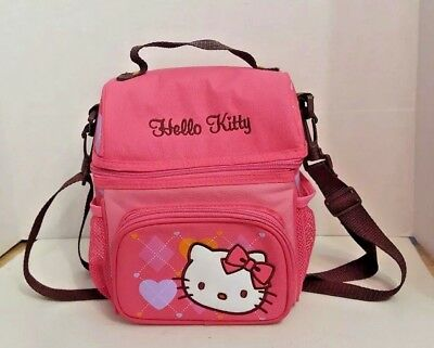 Hello Kitty Insulated Thermal Tote Lunch Bag - Multi-pockets
