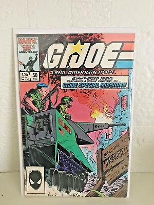 GI JOE ARAH VINTAGE 1980s MARVEL COMIC BOOKS BOARDED BAGGED PERSONAL COLLECTION