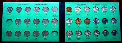 <><> 1922 to 1967 <><> CANADA <> NICKELS collection High Grade <> MEGHRIG album
