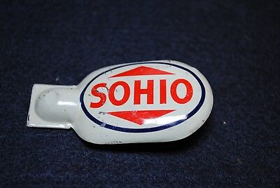 SOHIO Gas Station Give Away Tin Toy Cricket or Clicker T.K.P. Co