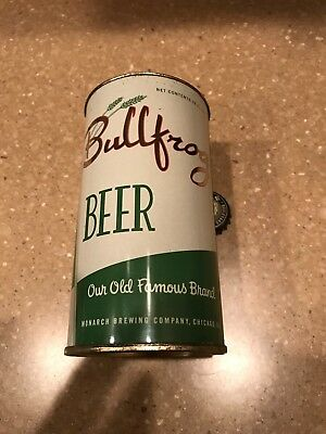 USBC 46-4 Bullfrog Beer FT Can  Monarch Brewing, Chicago, IL