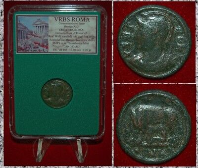 Ancient Roman Empire Coin Commemorative CITY OF ROME Wolf Romulus Remus