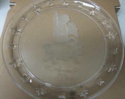 M.i. Hummel 1996 Angel Collector Plate, With Box And Coa