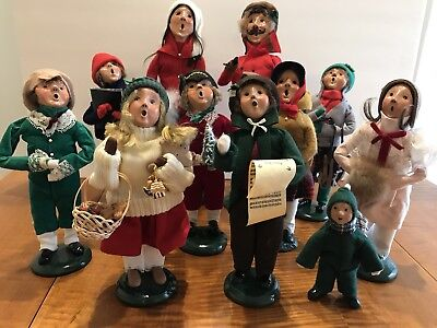 Byers Choice Carolers - set of 11 pieces