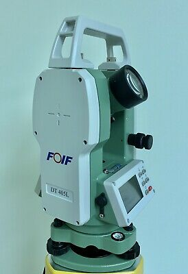 "FOIF THEODOLITE - DT402L - 2"" Accuracy - NEW"