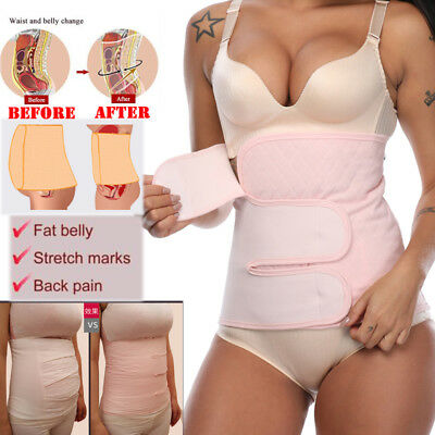2018 Women Postpartum Belt Belly Wrap Body Shaper Support Recovery After Birth