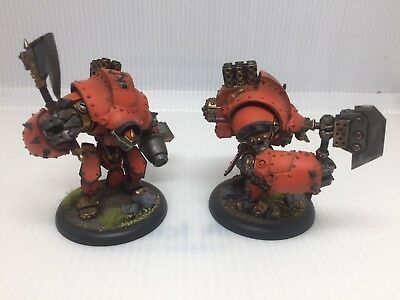 Privateer Press Warmachine Khador Warjacks miniatures- Painted