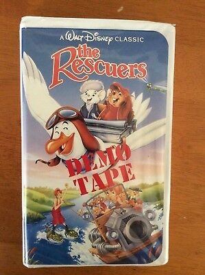 The Rescuers Demo Tape  (1992) used VHS. Black Diamond Classic by Walt Disney