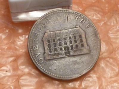 Original 1815 Sheffields Overseers Of The Poor Colonial Penny Trade Token #3