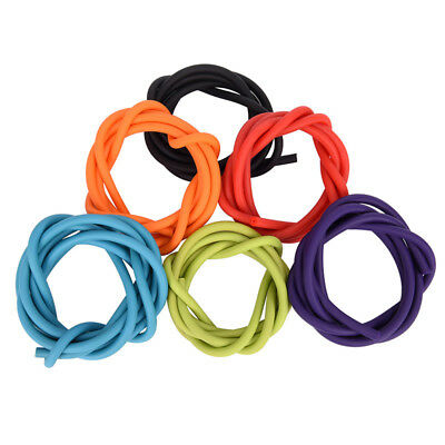 1m 2050 Outdoor Latex Rubber Tube Stretch Elastic Slingshot Replacement Band WM