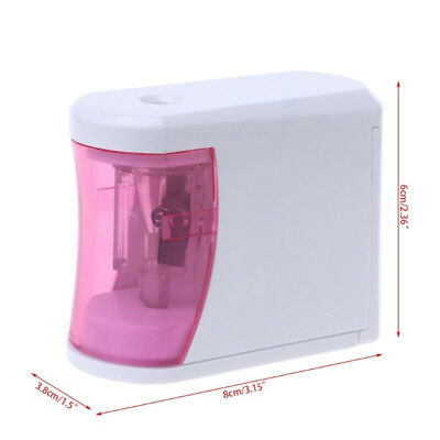 Pencil Sharpener Automatic Electric Touch Battery Personal Office Home School