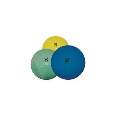 """(Yellow (17.7"""")) - Cando Inflatable Exercise Ball - Deluxe Extra Thick - 46cm"""