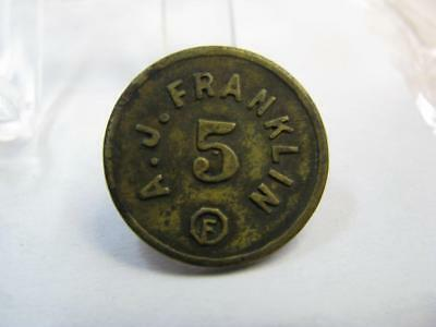 Bryson City Nc Lumber Merchant Ingle Advertising Trade Token