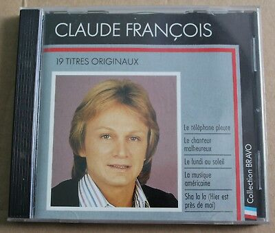 Claude François, best of - collection Bravo, CD