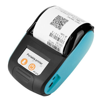 58mm USB Mini Wireless Bluetooth Thermal Receipt Bill Printer For Android iOS UK