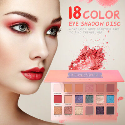 18 Colors Eye Shadow Palette Glitter Matte Pearlescent Earthy Colours k0Nw