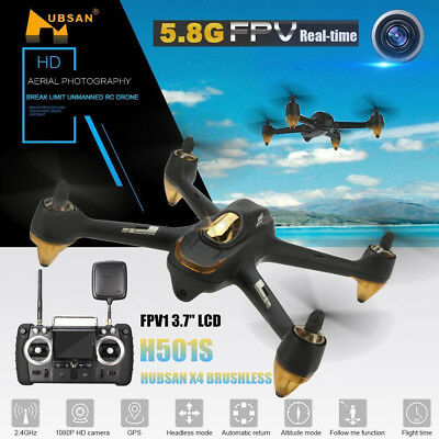 Hubsan H501S X4 FPV Brushless RC Quadcopter with 1080P HD Camera & GPS Drone RTF