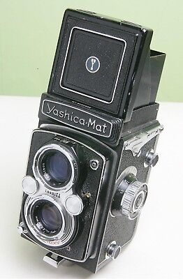 Collectable Yashica-Mat Tlr 120 Film Camera - Service Needed