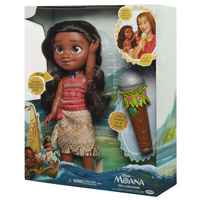Moana Sing-A-Long Doll and Microphone