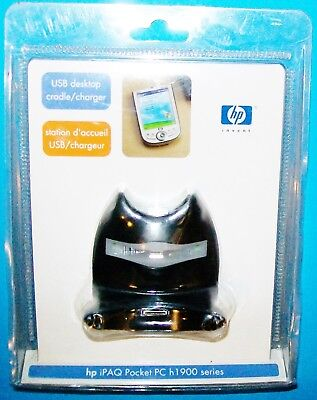 New Hp Usb Docking Cradle Sync Charger Dock Station Ipaq Pocket Pc H1900 Series