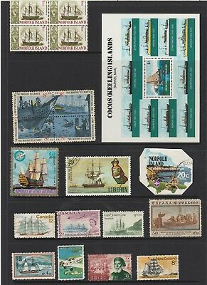 Tall Ships  Stamp Collectible    Great stamps here    From Estate Sale