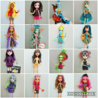 MONSTER HIGH DOLLS - Choose Your Doll - All Series