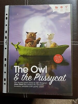Alan Dart Knitting Pattern For The Owl And The Pussycat.