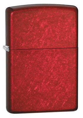 "BRIQUET ZIPPO ESSENCE NEUF - ROUGE POMME  "" CANDY APPLE "" Original , Tempete"