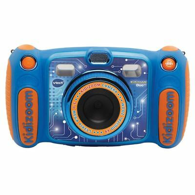 Vtech Kidizoom Duo 5.0 Digital Camera Kids Photos Video Selfies Games - Blue
