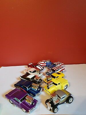 Lot of 11 VERY NICE Muscle Machines, Muscle cars & Hot Rods