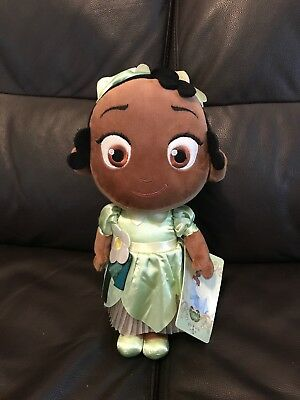 Disney Store Tiana Toddler Plush With Tags