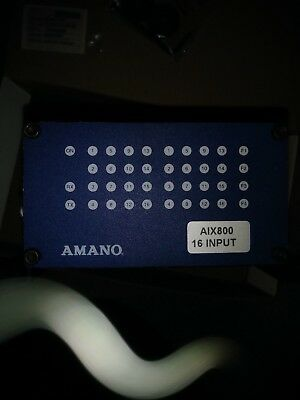 Reduced...Amano XIT900-0-0-AC-00.  16 Channel Input board.