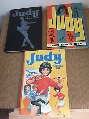 3 JUDY ANNUALS 1970, 1979 and 1985