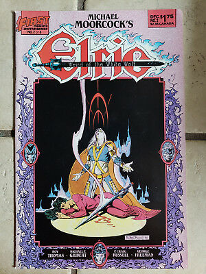 Elric Weird of the White Wolf #2 FN First Comics First Print FREE SHIPPING