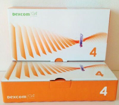 Dexcom G4 /G5 Sensors - BOX OF 4 sensors EXP:2019-06-01