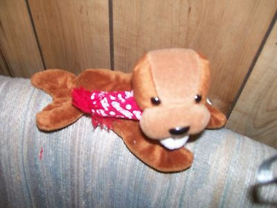 Coca Cola Bean Bag, Walrus With Bottle And Logo Scarf, Never Een Played With