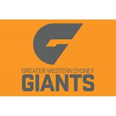 Official AFL Greater Western Sydney GWS Giants Large Flag (NO STICK/FLAG POLE)
