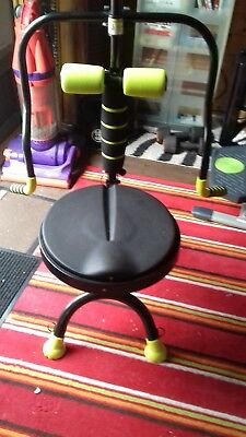 twist and shape chair in excellent condition