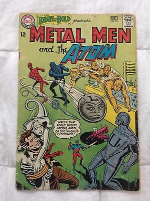 Brave and the Bold #55 Metal Men + the Atom (1964 1st Series DC)