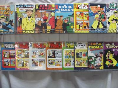 Dick Tracy Comics By Chester Gould Mix Lot of 15 (310)