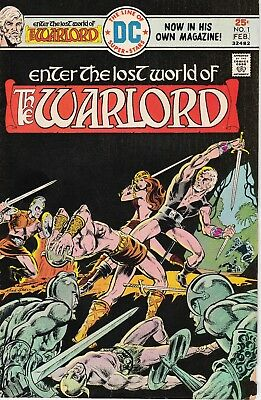 The Warlord #1Fn (1976, Dc Comics, Bronze Age, Mike Grell)