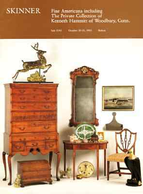 Skinner Fine Americana : The Private Collection Of Kenneth Hammitt