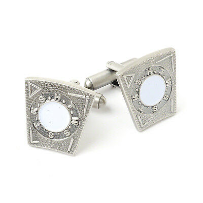 New 3D Boxed Masonic Mark Degree keystone Cufflinks