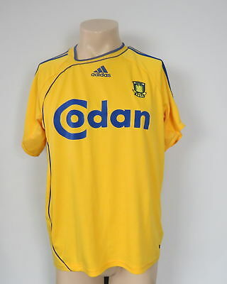 Brondby 2006-08 home shirt adidas soccer jersey size M