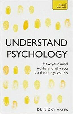 Understand Psychology: Teach Yourself By Dr Nicky Hayes NEW (Paperback) Book