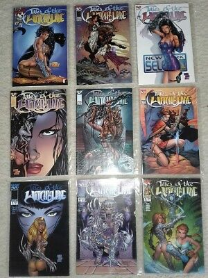 TALES OF THE WITCHBLADE #1 THRU #9 (LOT OF 9) NM- to NM (IMAGE COMICS, TOP COW)